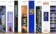 """Accéder à la page """"Dictionnaires Larousse"""""""