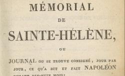 """Accéder à la page """"Las Cases, Mémorial de Sainte-Hélène"""""""
