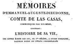 """Accéder à la page """"Las Cases, Mémoires"""""""