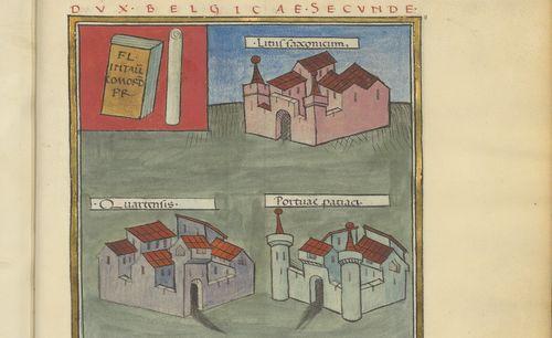 """Accéder à la page """"Notice des dignités (BnF, ms. Latin 9661)"""""""