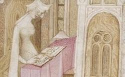 Figure de l'humanisme français: Christine de Pizan a rédigé des poèmes, des traités philosophiques, politiques, et militaires  Lavisionchristine_fr.1176