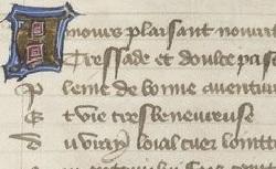 Figure de l'humanisme français: Christine de Pizan a rédigé des poèmes, des traités philosophiques, politiques, et militaires  Lay_fr.835
