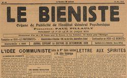 """Accéder à la page """"Biéniste (Le )"""""""