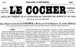 """Accéder à la page """"Cocher (Le)"""""""