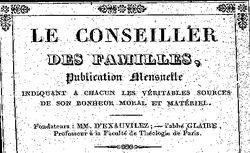 """Accéder à la page """"Conseiller des familles (Le)"""""""