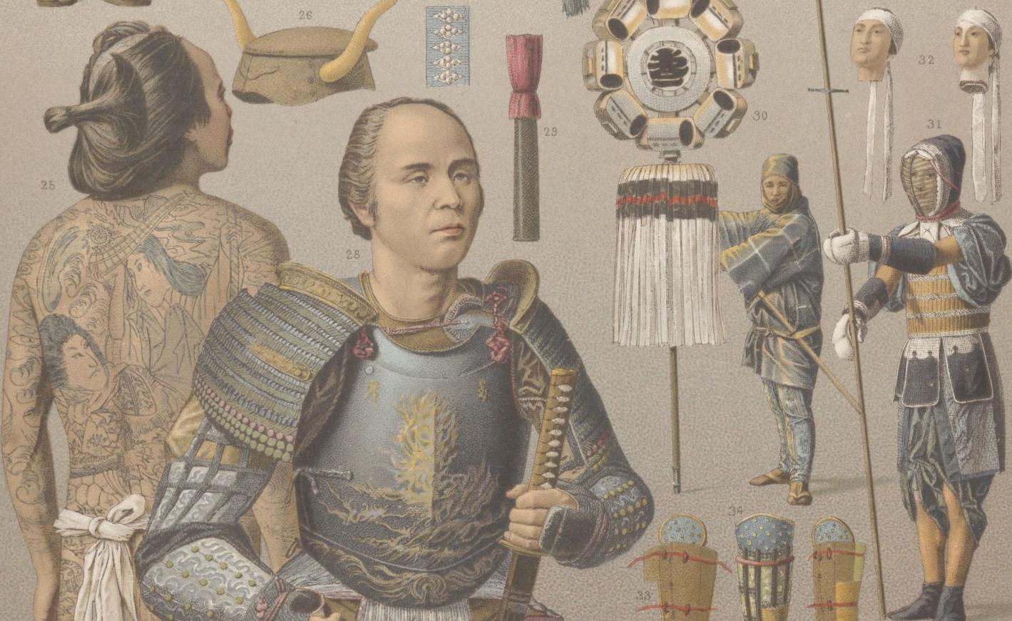 Albert Racinet,  Le Costume historique, 1888