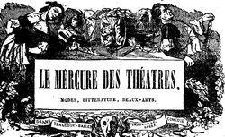 """Accéder à la page """"Mercure des théâtres (Le) """""""