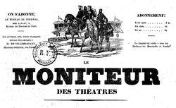 """Accéder à la page """"Moniteur des théâtres (Le)"""""""