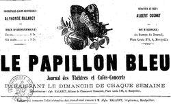 """Accéder à la page """"Papillon bleu (Le) """""""