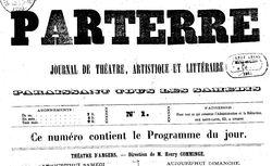 """Accéder à la page """"Parterre (Le) """""""