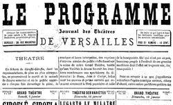 """Accéder à la page """"Programme (Le)"""""""
