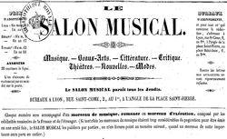 """Accéder à la page """"Salon musical (Le)"""""""