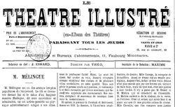 """Accéder à la page """"Théâtre illustré (Le)"""""""