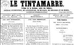 """Accéder à la page """"Tintamarre (Le)"""""""