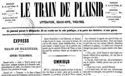 """Accéder à la page """"Train de plaisir (Le)"""""""
