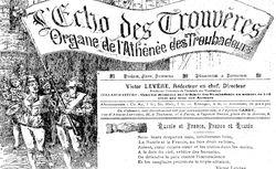 """Accéder à la page """"Écho des trouvères (L') """""""