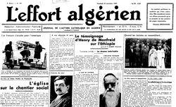 """Accéder à la page """"Effort algérien (L')"""""""