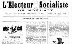 """Accéder à la page """"Électeur socialiste de Morlaix (L')"""""""