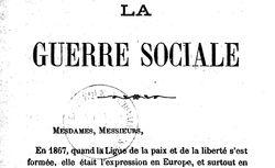 """Accéder à la page """"La Guerre sociale (1871) - discours"""""""