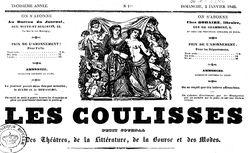 """Accéder à la page """"Coulisses (Les)"""""""