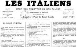 """Accéder à la page """"Italiens (Les)"""""""