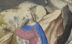 Figure de l'humanisme français: Christine de Pizan a rédigé des poèmes, des traités philosophiques, politiques, et militaires  Lesseptpsaumesallegorises_naf4792