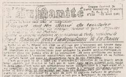 """Accéder à la page """"Humanité (L') (Aveyron)"""""""