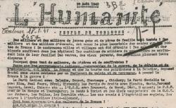 """Accéder à la page """"Humanité (L') (Toulouse)"""""""