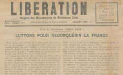 """Accéder à la page """"Libération (édition spéciale région Lyonnaise)"""""""