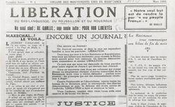 """Accéder à la page """"Libération du Bas-Languedoc, du Roussillon et du Rouergue"""""""