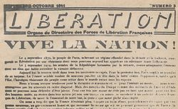 """Accéder à la page """"Libération (zone sud)"""""""