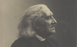 Franz Liszt, par Nadar