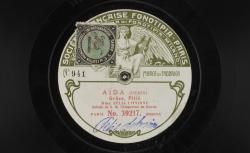 Aïda : Grâce, pitié / Félia Litvinne soprano (soliste de S. M. l'Empereur de Russie) - source : Gallica.bnf.fr / BnF
