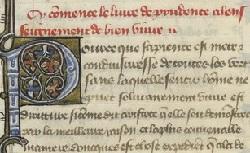 Figure de l'humanisme français: Christine de Pizan a rédigé des poèmes, des traités philosophiques, politiques, et militaires  Livredeprudence_fr.605