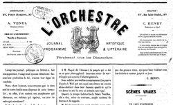 """Accéder à la page """"Orchestre (L')"""""""