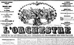 """Accéder à la page """"Orchestre (L') """""""