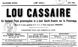 """Accéder à la page """"Lou Cassaire"""""""