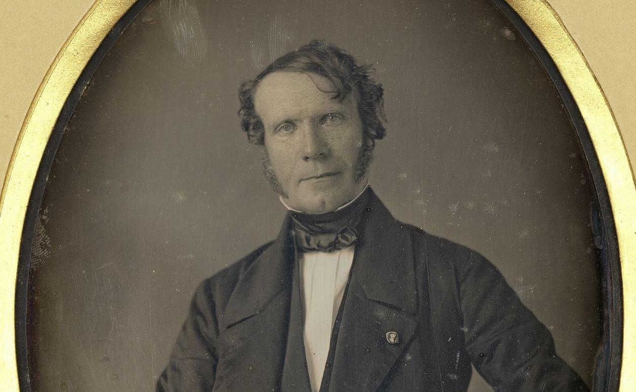 """""""Jean-Baptiste-Louis Gros, baron"""". Photographie de W Thompson, 1849. RESERVE EG8-635"""