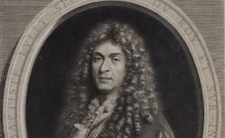 Jean-Baptiste Lully, secrétaire du Roy et sur-intendant de sa musique / Paulus Mignard Nic. dicti Auen.is filius pinxit ; Ioan Lud. Roullet sculp. Parisiis et ex.