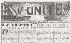 """Accéder à la page """"Unité !!! (l'). Organe de résistance des embastillés d'Eysses (Villeneuve-sur-Lot)"""""""