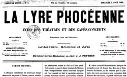 """Accéder à la page """"Lyre phocéenne (La)"""""""