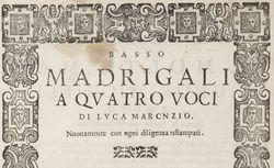 """Accéder à la page """"Madrigal"""""""