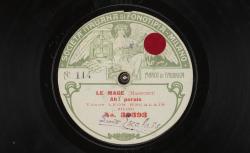 Le Mage : Ah ! parais ; Massenet, comp. ; Leon Escalaïs, T ; acc. de piano - source : gallica.bnf.fr / BnF