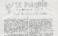 """Accéder à la page """"Maquis alpin (Le)"""""""