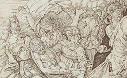 Mise au tombeau, d'après Andrea Mantegna, 1470-1506
