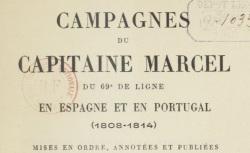 """Accéder à la page """"Marcel, capitaine Nicolas, Campagnes (1808-1814)"""""""