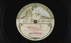 Marcella. O santa libertà / Giordano, comp. ; Giuseppe Anselmi, ténor ; acc. piano - source : gallica.bnf.fr / BnF