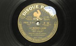 """Accéder à la page """"La Marseillaise - Marthe Chenal, décembre 1919"""""""