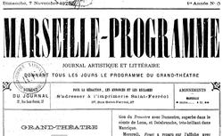 """Accéder à la page """"Marseille-programme"""""""
