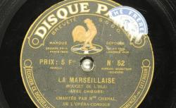 Disque NC Pathé saphir 52 - Marthe Chenal, soprano française - source : gallica.bnf.fr/BnF